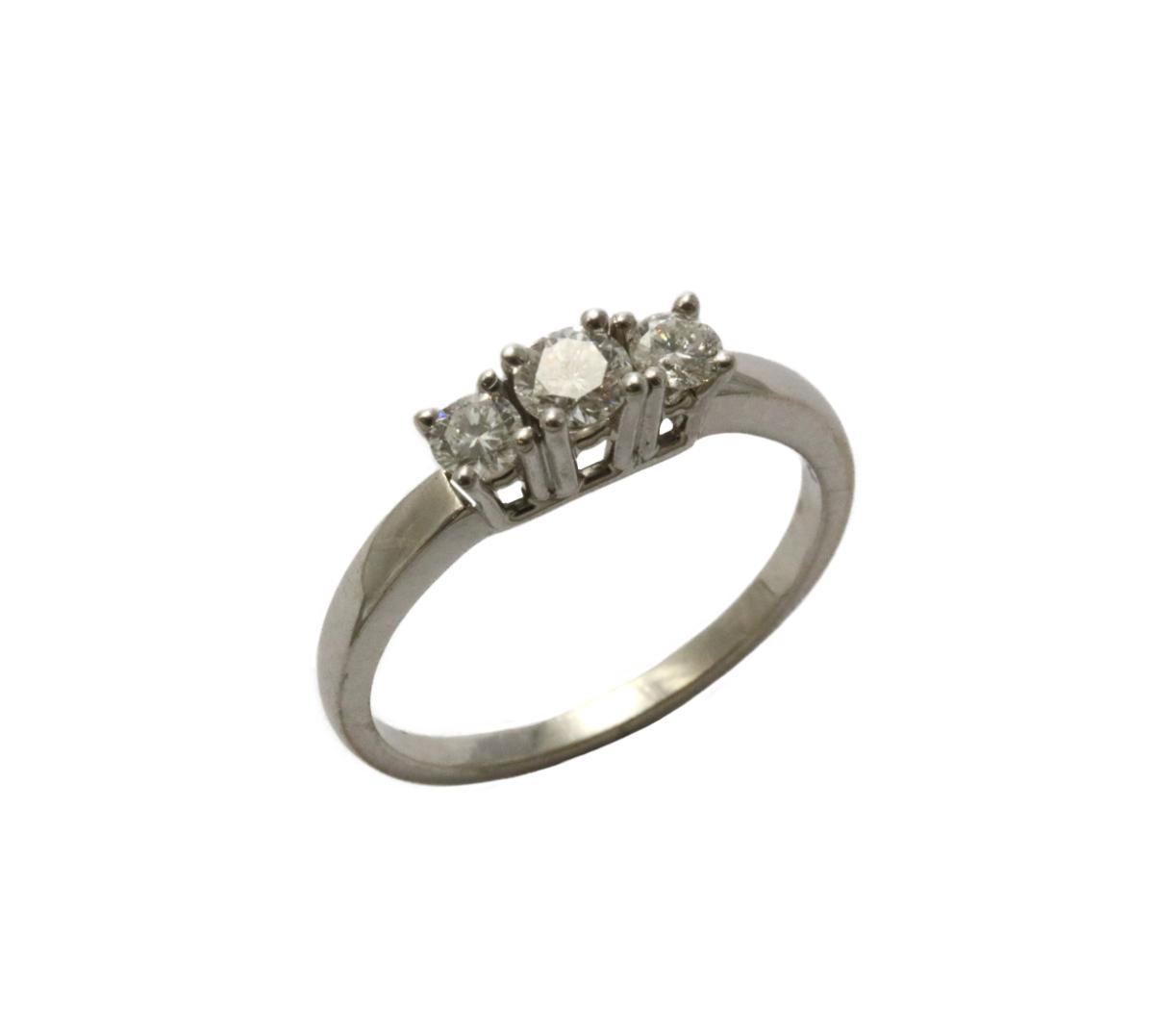 Weißgold Ring
