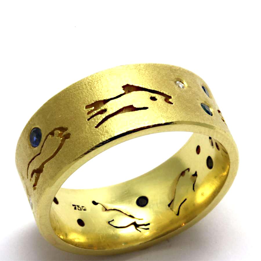 Fisch Ring